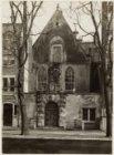 Oudezijds Voorburgwal 231. De Agnietenkapel voor de restauratie van 1921 door ar…
