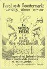 Affiche voor het Noordermarktfeest op zondag 28 mei 1978