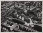 Luchtfoto van het Jacob van Lennepkanaal en omgeving gezien in zuidoostelijke ri…