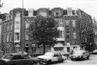 Jacob Obrechtstraat 42 - 46 v.r.n.l. (links), rechts Johannes Verhulststraat 33 …