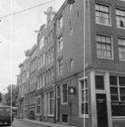 Eerste Egelantiersdwarsstraat 16 - 20 v.r.n.l. (latere nummering 56 - 72) met li…