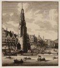 Haringpakkerij, nu Prins Hendrikkade, gezien vanaf het IJ (Open Havenfront)
