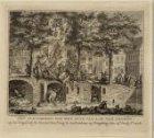 Het plunderen van het huis van A.M. van Arssen op de Cingel bij de Huiszittenste…