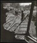 Prins Hendrikkade, werk aan tramsporen