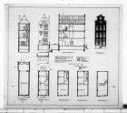 Bouw van het pakhuis, Spuistraat 107 en de verbouwing van het kantoorgebouw, Nie…