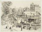 Tentoonstelling 'De Trein 1839-1939' op het terrein van het voormalige Paleis va…