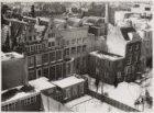 Panorama-opname van de achtergevels, Keizersgracht 117-127 (v.l.n.r.) in wintert…