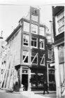 Korsjespoortsteeg 12 (ged.) - 14 v.r.n.l., links Langestraat
