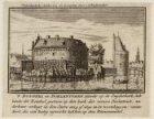 ''t Rondeel en Doelentoren ziende op de Zuyderkerk