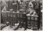 Panorama-opname van de achtergevels, Keizersgracht 131 (ged.)-139 (v.r.n.l.) in …