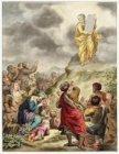 Tekening van Abraham Delfos van schilderij van Ferdinand Bol in de Schepenzaal v…