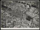 Luchtfoto van de Koopmansbeurs, Beursplein 1-3 en omgeving