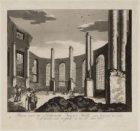 Ruine van de Luthersche Nieuwe Kerk, van binnen te zien, zo als dezelve zich voo…