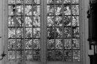 Dam 12, Nieuwe Kerk, detail raam