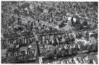 Luchtfoto van de Prinsengracht (midden) en omgeving gezien in noordwestelijke ri…