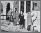 De Winkler Prins Stichting onthult de Comenius-plaquette aan het Huis met de Hoo…