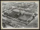 Luchtfoto van het complex van de Kromhout Motoren Fabriek, Ketelstraat 2. Links …