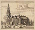 L'Eglise Vieille - De Oude Kerck, begonnen omtrent den jaere 1370, is met een To…