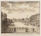 De Kloverniers Burgwal naa de St. Antonis Waag te zien