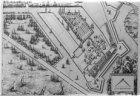 Detail van de kaart van Van Berckenrode, eerste uitgave uit 1625