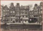 Prinsengracht 92-96 (v.r.n.l.). Rechts de ingang van de Egelantiersstraat 2 (ged…