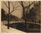 De Herengracht vanaf de Leidsegracht ter hoogte van nummer 2 in noordelijke rich…