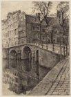 De Herengracht 396-404 (links, v.r.n.l.), gezien in zuidoostelijke richting, met…