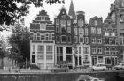 Korte Prinsengracht 5 - 15 (ged.), links de Haarlemmer Houttuinen