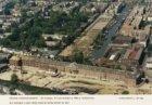 Luchtfoto van de Oranje-Nassaukazerne, Sarphatistraat 154, tijdens de verbouwing…