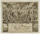 Burgerwachtbriefje met de oproep voor Cornelis Adrianus Rijke waarin hem 'De wac…