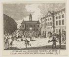 Overgaaf der Leydsche Poort te Amsterdam, aan den Pruyschen, den 10 October 1787