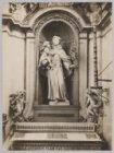 Foto van een beeld van de Heilige Antonius in de Mozes en Aäronkerk, Waterloople…