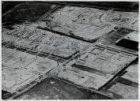 Luchtfoto van de tuinstad Slotermeer in aanleg gezien in noordwestelijke richtin…
