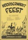 Affiche voor het Noordermarktfeest op zaterdag 23 juni 1979