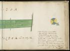 Rechterdeel van kaart 10 van kaartboek D van het Burgerweeshuis met een weer gel…