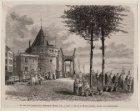 Schreierstoren, Kamperhoofd, na 1879 Prins Hendrikkade 94-95 gezien in noord-wes…