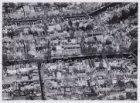 Luchtfoto van de Prinsengracht (midden) en omgeving gezien in noordelijke richti…