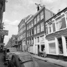 Eerste Boomdwarsstraat 1 - 7 (ged.)  met aansluitend links de zijgevel van Linde…