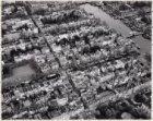 Luchtfoto van de Utrechtsestraat (midden) en omgeving gezien in noordoostelijke …