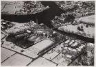 Luchtfoto van de gemeente Ouder-Amstel in wintertooi gezien in noordelijke richt…