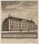 Afbeelding van het luthersche diakonie-besteedeling-huis, gestigt op het Weesper…