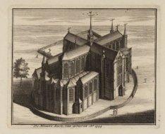 De Nieuwe Kerk, van achteren Ao. 1544