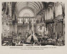 Overzicht van de tentoonstelling van Nederlandsche Nijverheid en Kunst in het Pa…
