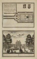 Platte Gront van het Huis en de Hofstede Meerestein, groot XI Morgens, 109 Roede…