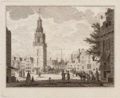 De Jan Roodenpoortstoren, gezien uit de Oude Leliestraat