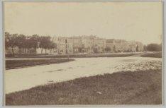 Amstelveenseweg 126-172 (v.r.n.l.), gezien vanuit de Sophialaan over de huidige …