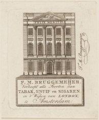 F.M. Bruggemeijer, Verkoopt alle soorten van Tabak, Snuif en Sigaren