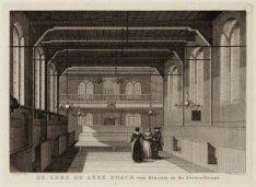 De Kerk Arcke Noach van Binnen, in de Prinsenstraat