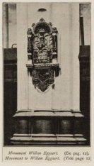 Monument van Willem Eggert in de Nieuwe Kerk