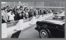 Veel belangstelling voor de Auto-RAI, Europaplein 8
